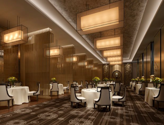 Banquet hall interior design and decoration