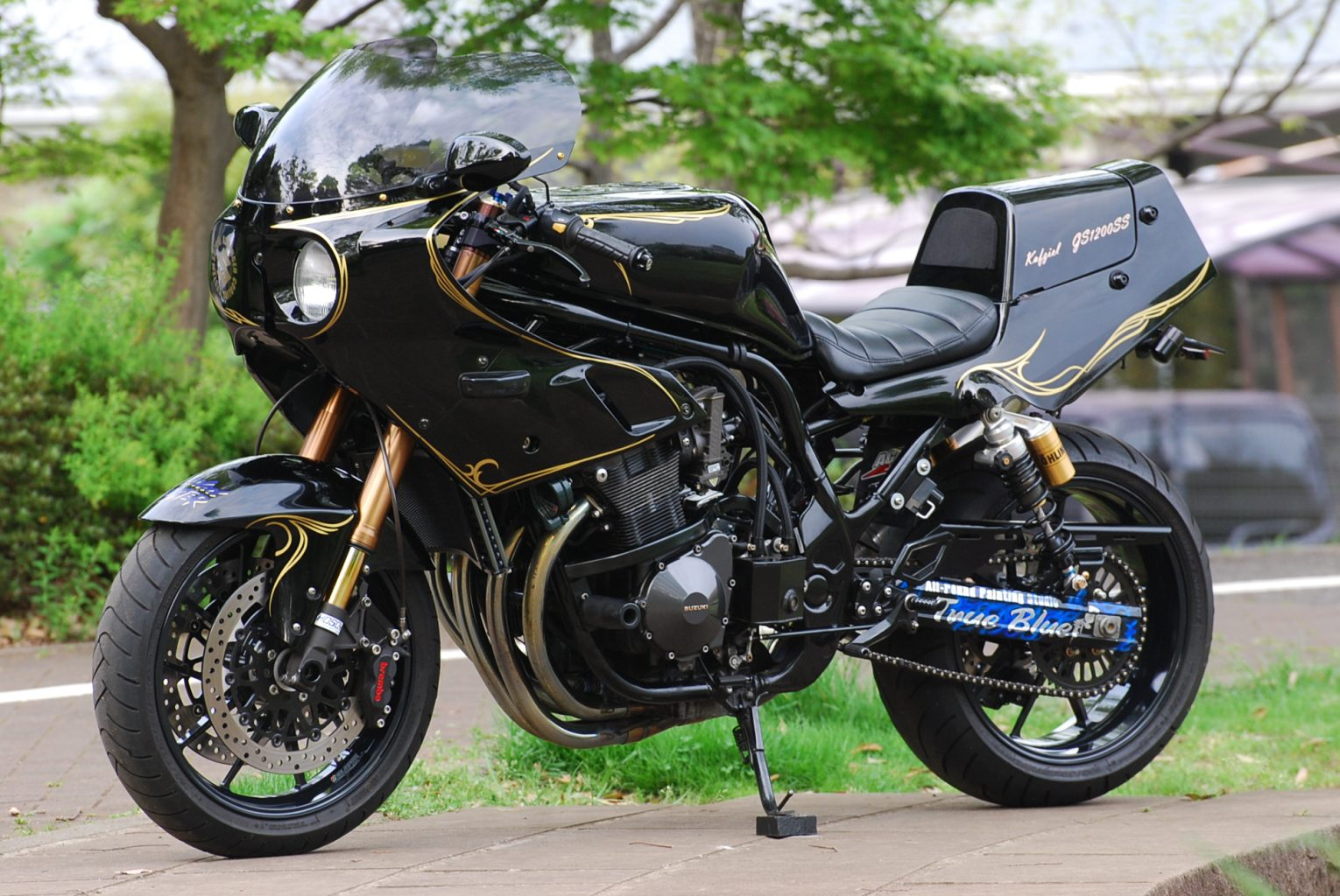 Planet Japan Blog Suzuki Gs 1200 Ss Takano By Bagus Motorcycle Custom