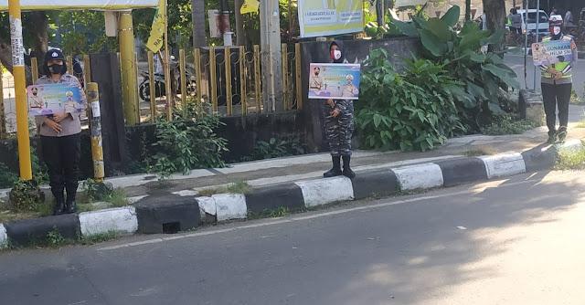 Korps Wanita TNI AL Lanal Mataram Hadir Ditengah Covid-19