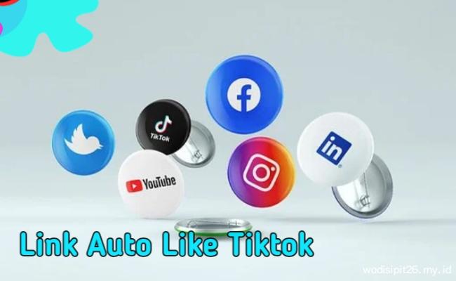 terbaru Link website auto like tiktok online Gratis  tanpa login dan password
