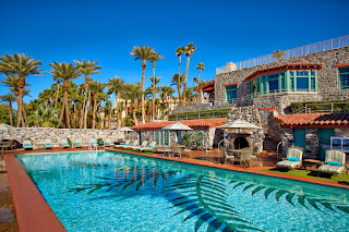 Pool at The Inn at Furnace Creek, Death Valley, California