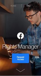 Cara Mendaftarkan Fitur Right Manager Facebook Fanspage 2021