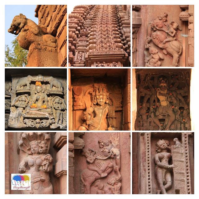 Mukteswar temple art work, kalinga architecture