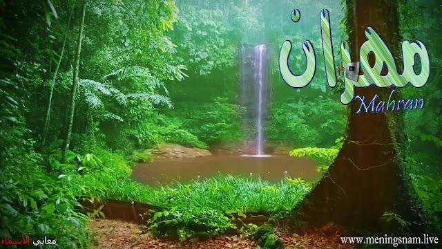 معنى اسم مهران وصفات حامل هذا الاسم Mahran,
