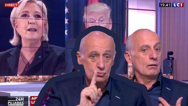 """Jean-Michel Aphatie sur la victoire de Joe Biden : """"Marine Le Pen a mille fois raison"""""""