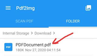 PDF Ko Image Me Kaise Convert Kare