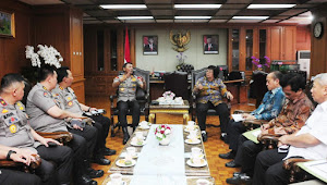 Menteri LHK dan Kapolri Tingkatkan Sinergi Penanganan Masalah Lingkungan Hidup dan Kehutanan