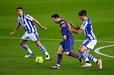 ريال سوسيداد VS برشلونة