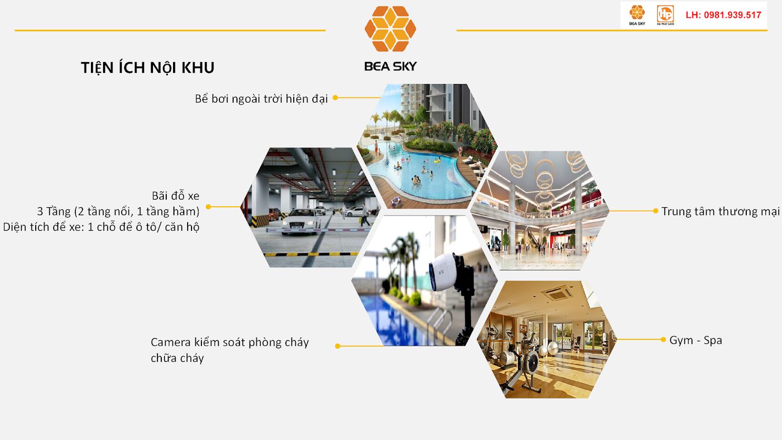 Tiện ích tại chung cư Bea Sky Nguyễn Xiển