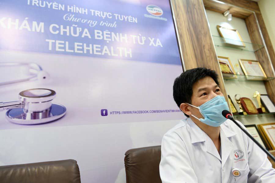 Hình 2 - Bác sĩ Nguyễn Sinh Hiền – Giám đốc Bệnh viện Tim Hà Nội.