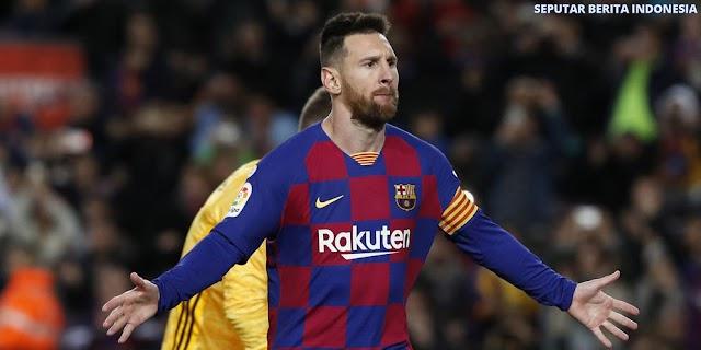 Lionel Messi Mencetak 4 Gol Pada Saat Melawan Eibar 5-0
