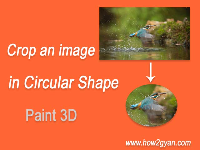 How to crop an image in circular shape