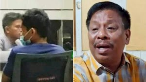 Mobil Hampir Tersenggol, Wakil Rakyat Pasbar Tampar Sopir Truk, Ajudannya Todongkan Pistol