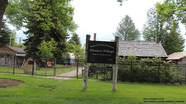 Pioneer Village Sign