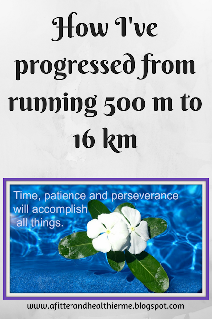 From 500m to 16km