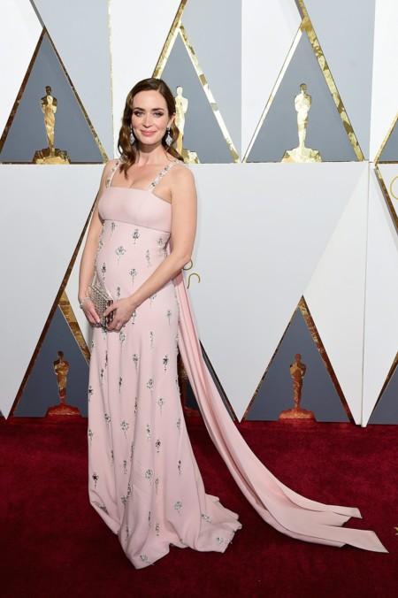 Oscar 2016 Emily Blunt vestida de Prada