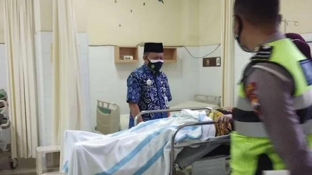 Ketua Umum MUI Kecelakaan di Tol Salatiga, Mobilnya Remuk