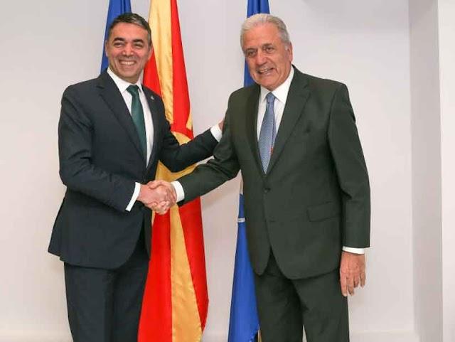 Dimitrov traf sich mit EU-Kommissar Avramopoulos