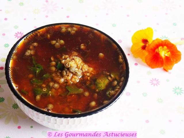 Comment faire une soupe de lentilles ?