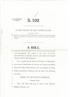 S.102: Senate Bill to Amend Public Health Service Act