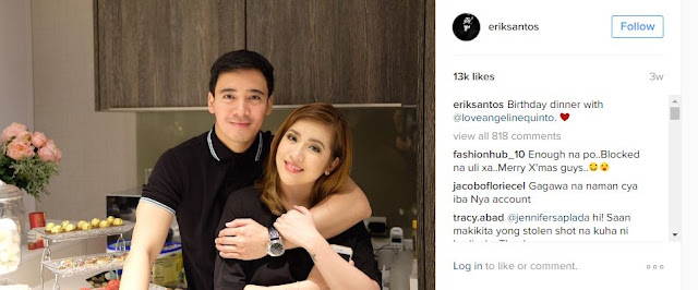 Erik Santos Breaks Silence On Rumors That Angeline Has A New Boyfriend. READ HERE!