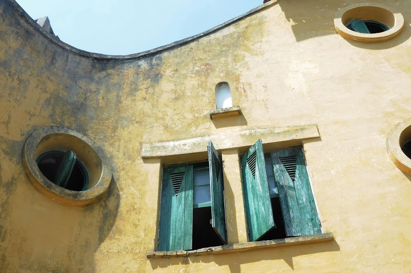 Chi tiết mặt đứng biệt thự bỏ hoang đẹp như mơ ở Đà Lạt- ảnh 3