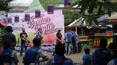 Kemeriahan Kopdar perdana Mobilio Indonesia Chapter Jakarta Raya pada fase New Normal