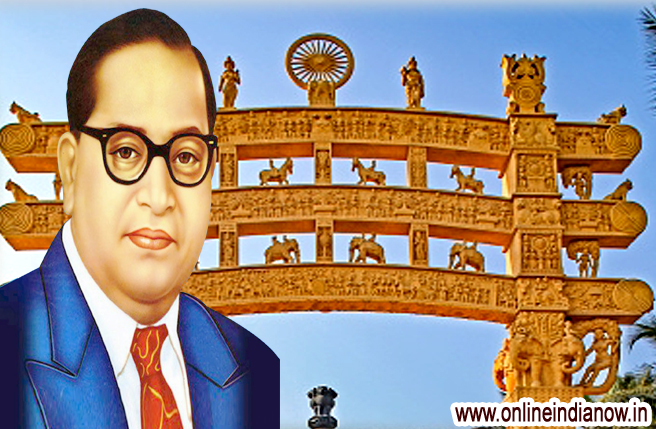 Dr.AMBEDKER PHOTO HD - AMBEDKER PHOTO WITH ASHOK STAMBH-FREE DOWNLOAD AMBEDKER HD PHOTO - www.onlineindianow.in