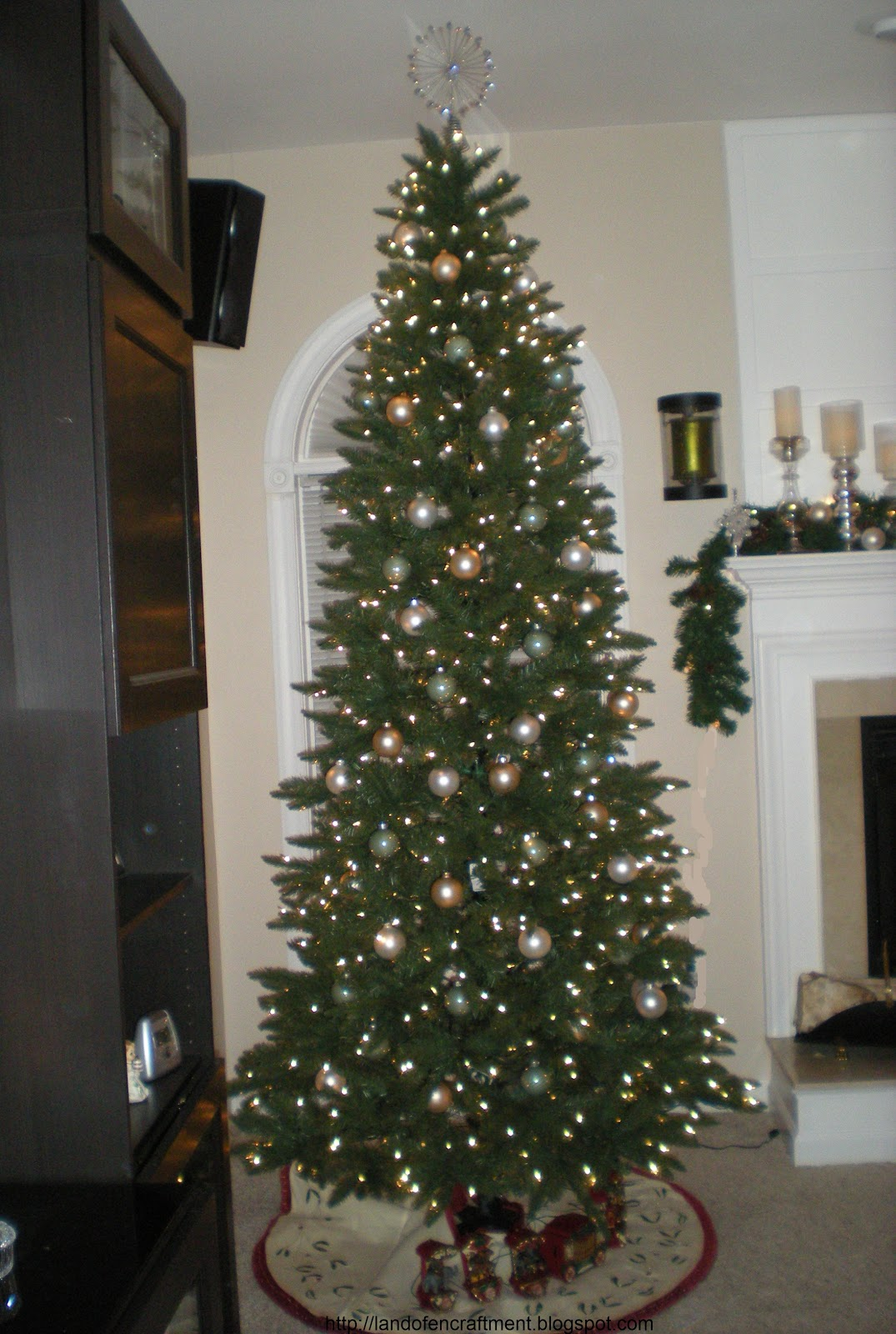 Slim Christmas Tree Sale
