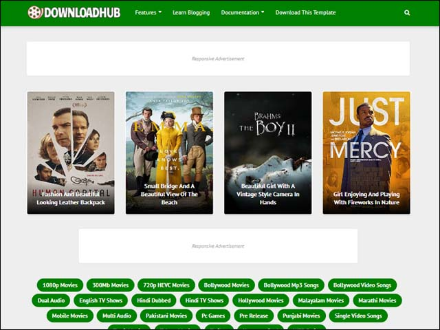 best-movie-downloading-blogger-templates