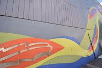 Street Art in Banskia by Ruth Downes & Geoff Webster