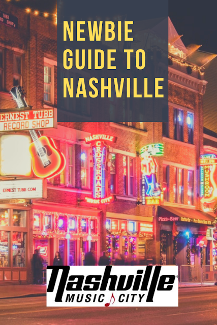 Newbie Guide to Nashville - What to do, see, eat! Plus, Nashville's Instagramable Hot Spots