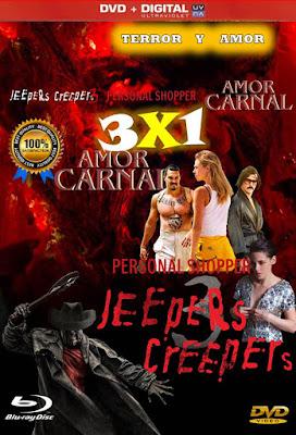 Terror Y Amor 3X1 COMBO HD DVD LATINO