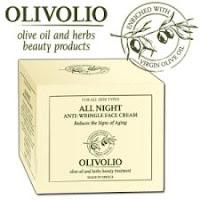 poza cutia crema anti riduri Olivolio pe baza de ulei de masline care actioneaza noaptea