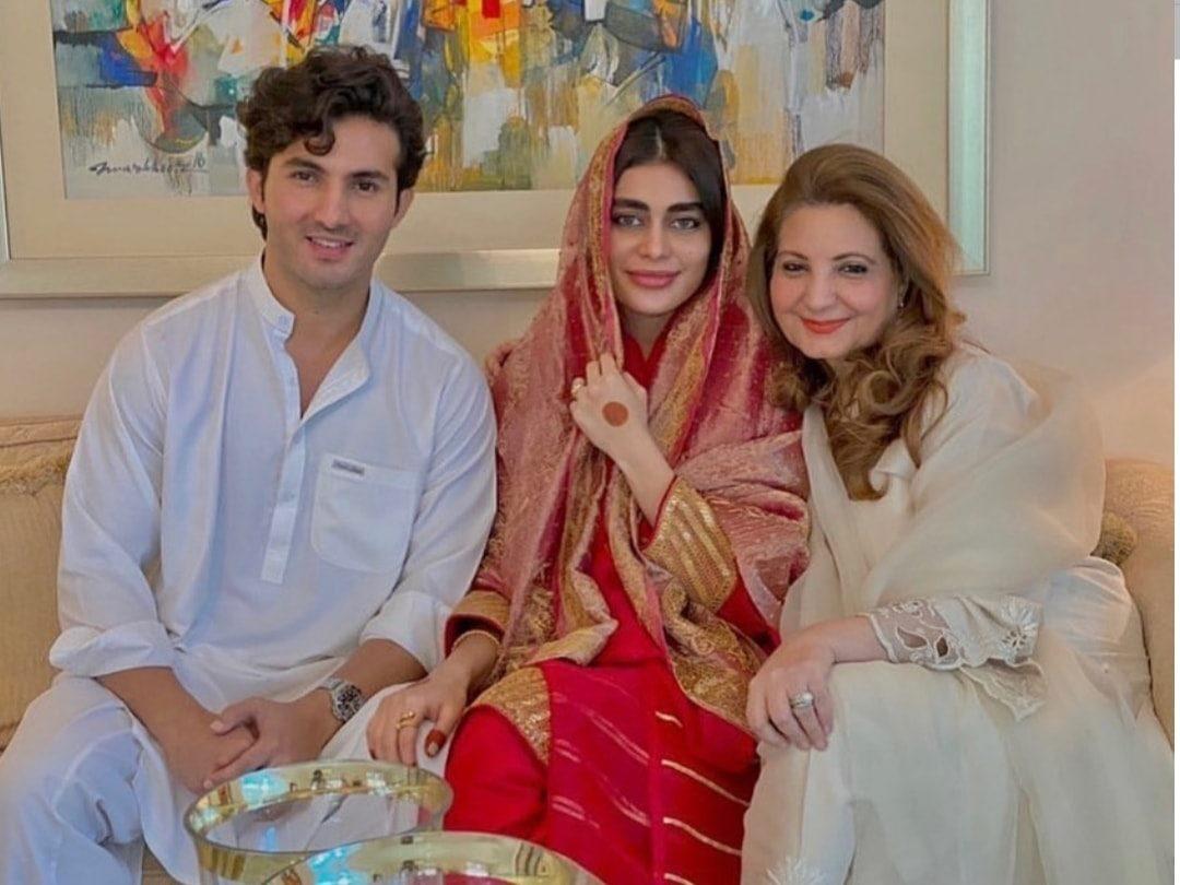 Shahroz Sabzwari and Sadaf Kanwal Nikah Photos
