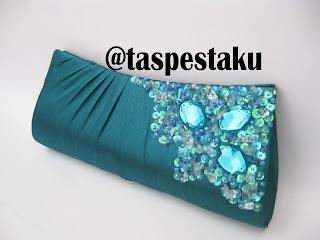 Clutch Bag Tas Pesta Warna Tosca Murah  Unik Cantik Mewah dan Elegant