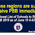 These regions are sure to receive PBB immediately: See the list here