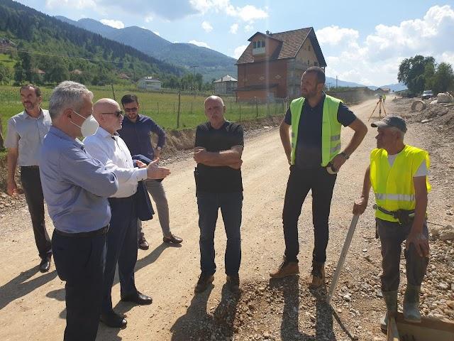 Ministri Nurković i Purišić posjetili Plav