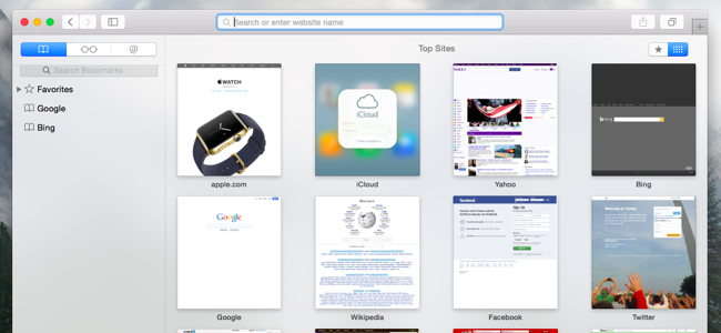 How to Hide Leading Websites in Safari