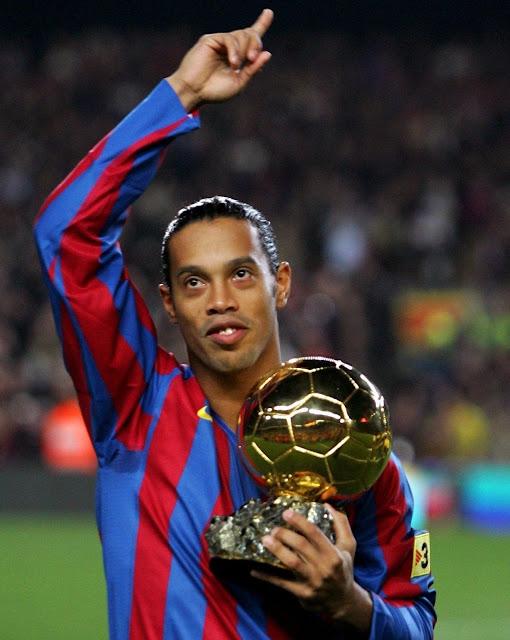 Ronaldinho Brazil Barcelona