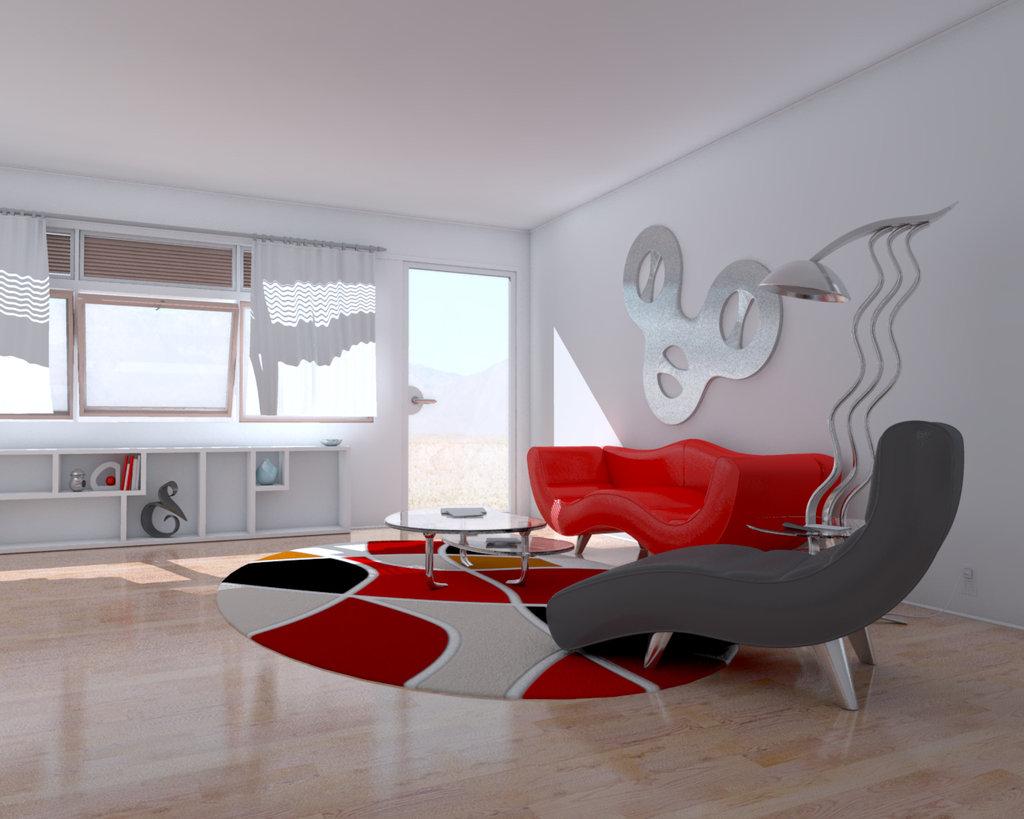 decoracao moderna Modernas idéias de design de interiores