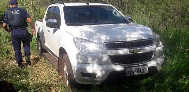 Guarda Municipal recupera caminhonete tomada de assalto em Arapongas (PR)