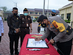 Polres Langsa Gelar Apel Pencanangan Zona Integritas menuju Wilayah Bebas Korupsi