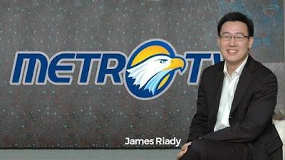 James Riady, foto untuk petisi boikot Metro TV