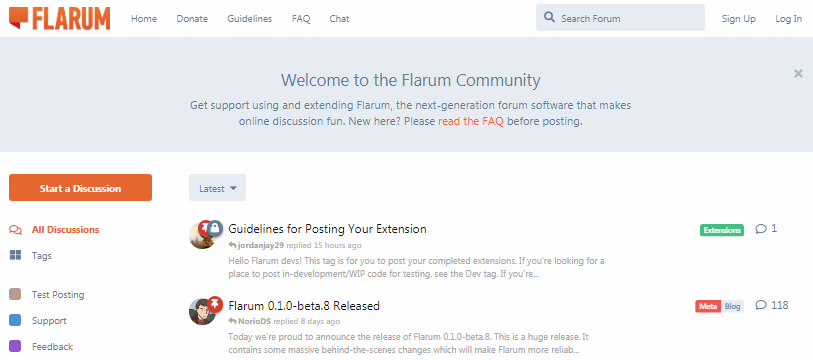 Upload Flarum dari Localhost ke Shared Hosting