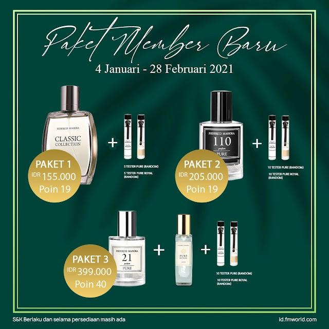 Cara daftar parfum fm