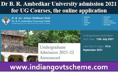 Dr B. R. Ambedkar University admission