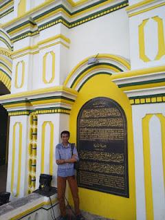 Salah satu sudut Masjid Agung Sumenep