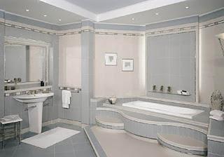 حمامات فخمة وعصرية جداً