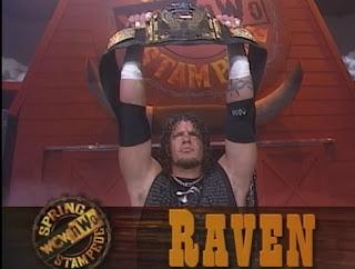 WCW Spring Stampede 1998 - Raven set to face DDP